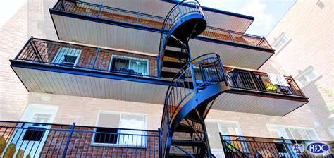 escaliers res en aluminium 224 montr 233 al rdc inc