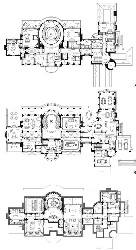Mansion Floor Plans by 27 000 Square Foot Quot Le Grand Reve Quot Mansion Floor Plan For