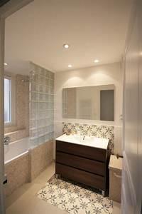 Cloison Brique De Verre : cuisine salle de bain briques de verres carreaux de ~ Dailycaller-alerts.com Idées de Décoration