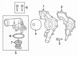 water pump for 2014 jeep wrangler With jeep tj thermostat