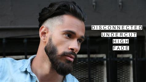 Gq Inspired Disconnected Undercut /w High Fade