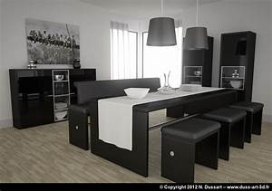 Salle a manger moderne italienne solutions pour la for Salle a manger italienne moderne
