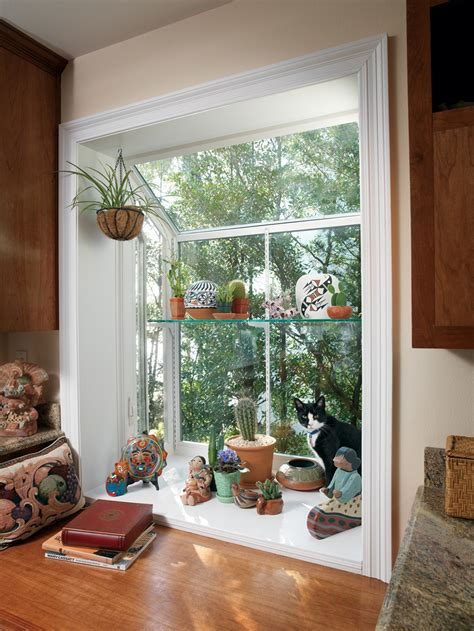 Kitchen Bay Window Decor Ideas by Garden Window Decorating Ideas To Brighten Up Your Home