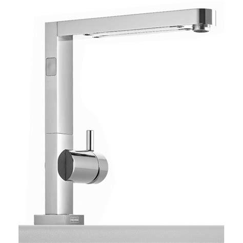 franke planar light single lever mixer  led light