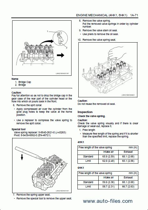 Hitachi Engine Manual Isuzu Repair Manuals