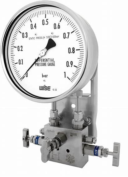 Pressure Gauge Differential Bellows P670 Wise Element