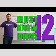 Gmat Tuesday Sentence Correction  Must Know Idioms #12 Youtube