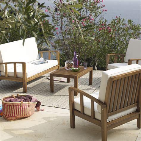 15 salons de jardin pour lu00e9zarder au soleil  Convivial  le salon de jardin Rangiroa de Alinu00e9a ...