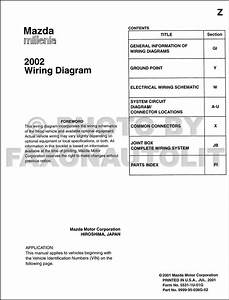 1996 Mazda Millenia Wiring Diagram And Electrical System