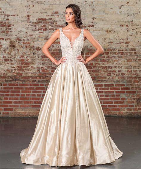 Gold Wedding Dresses 17 Dazzling Designs Uk