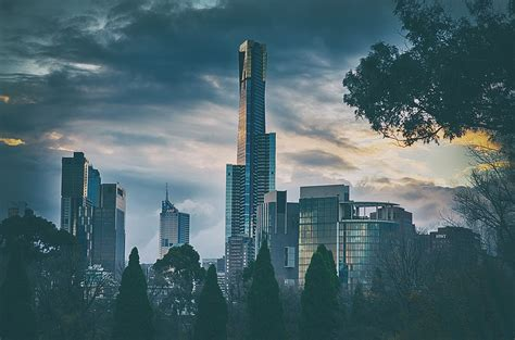 Free photo: Melbourne, City, Cityscape, Tower - Free Image