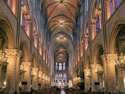 Dame Notre Cathedral Paris Interior History France