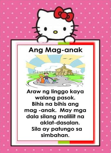 tagalog reading passages