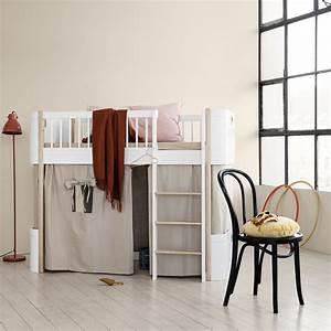 Vorhang Für Bett : oliver furniture wood mini bett vorhang rosa f r ~ Whattoseeinmadrid.com Haus und Dekorationen