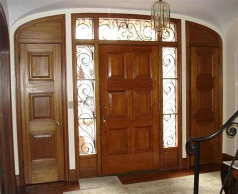 front door sidelight window curtains home improvement ideas