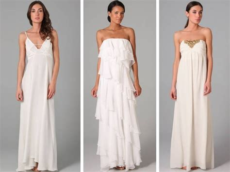 Casual Wedding Dresses For