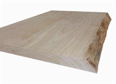 deboisec table en frne olivier en bois brut avec corce