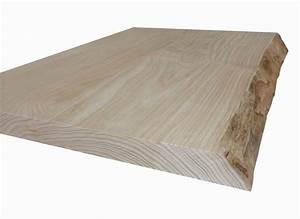 Table Bois Massif Brut : deboisec table en frne olivier en bois brut avec corce ~ Teatrodelosmanantiales.com Idées de Décoration