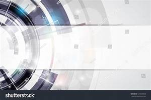 Abstract Round Grey Technology Business Banner Stock ...