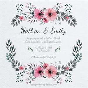Hochzeitseinladung Vorlagen Vektoren, Fotos und PSD Dateien kostenloser Download
