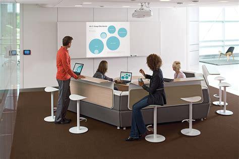 bureau steelcase arbee office furniture media scape collaborative settings