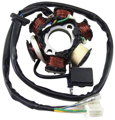 ncy 6 coil replacement stator for 125cc 150cc gy6 scooters atvs go karts