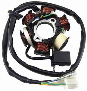 Ncy 6-coil Replacement Stator For 125cc
