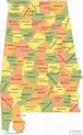 Alphabetical List Of Alabama Counties - ListCrab.com
