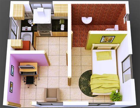 desain rumah kost minimalis sederhana wallpaper dinding
