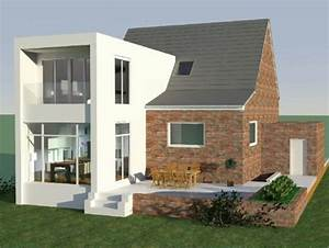 Anbau An Einfamilienhaus : erweiterung anbau einfamilienhaus acw ~ Indierocktalk.com Haus und Dekorationen