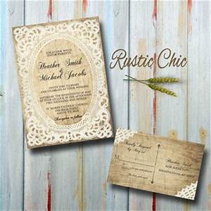 100 custom rustic vintage wedding invitations set 1795578 With rustic wedding invitations on sale