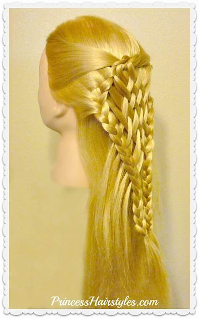 Hair Woven Hairstyles Pie Tutorial Princess Hairstyle
