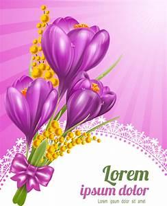 Purple flower vectors free vector download (10,844 Free ...