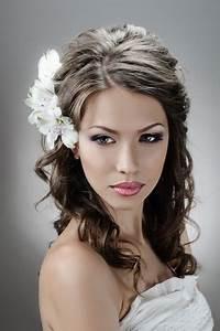 Coiffure Cheveux Courts Bouclés : coiffure mariage cheveux boucl s court ~ Melissatoandfro.com Idées de Décoration