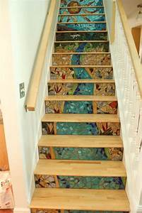 Most Beautiful Interior Mosaic Staircases