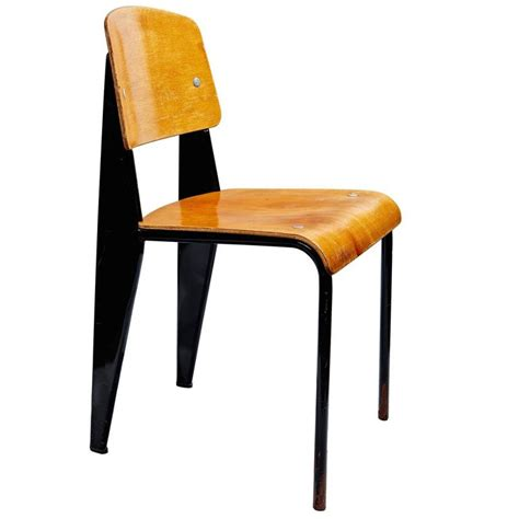 chaise prouv quot chaise standard quot by jean prouvé at 1stdibs