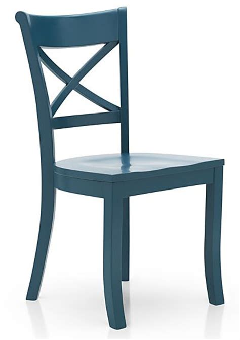 vintner peacock wood dining chair  turquoise