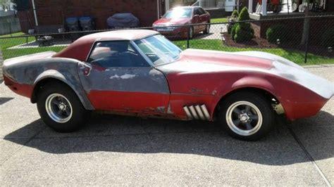 vintage vette custom  corvette convertible
