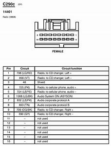 01 Crown Vic Radio Wiring Diagram