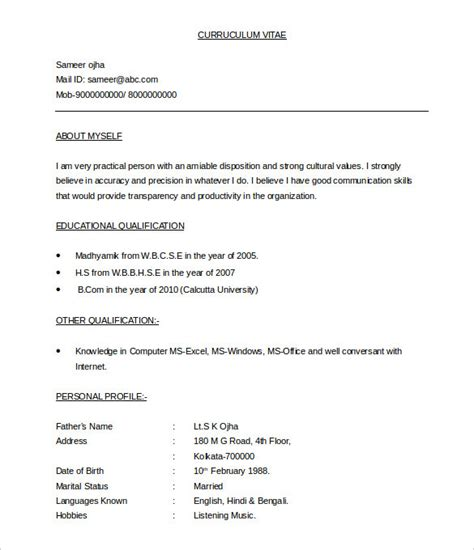 Resume Template Doc by 37 Bpo Resume Templates Pdf Doc Free Premium Templates