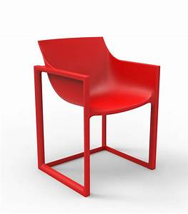 Chaise Exterieur Design : si ge avec accoudoirs design ext rieur wall street chaise de vondom ~ Teatrodelosmanantiales.com Idées de Décoration