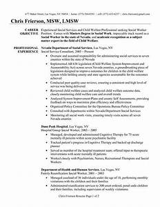 Child Social Worker Sample Resume  A Website That Help