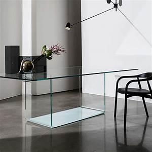 Table à Manger En Verre : table de salle manger design en verre valencia sovet 4 ~ Teatrodelosmanantiales.com Idées de Décoration