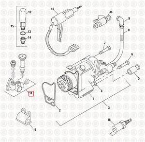 Fuel Supply Pump For International Dt466e  Pai 480235 Ref
