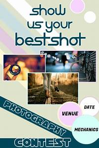 Concert Visual Design Photography Contest Poster Template Postermywall