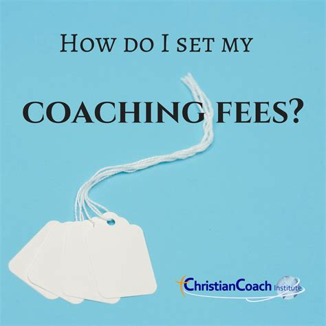 set  coaching fees  images christian