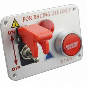 China Racing Car 12v Ignition Switch Panel Engine Start