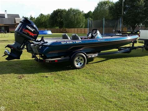 Skeeter Bass Boats For Sale Used by 2013 Used Skeeter Zx200 Bass Boat For Sale 33 900