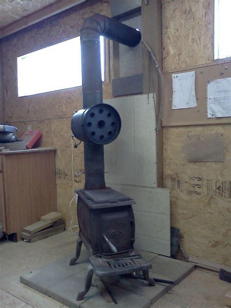 diy woodstove heat exchanger   sustained