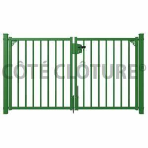 Portail De Jardin : portail de jardin esth tisme rime avec s curit echo web ~ Melissatoandfro.com Idées de Décoration